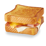 Texas Toast Ham & Cheese